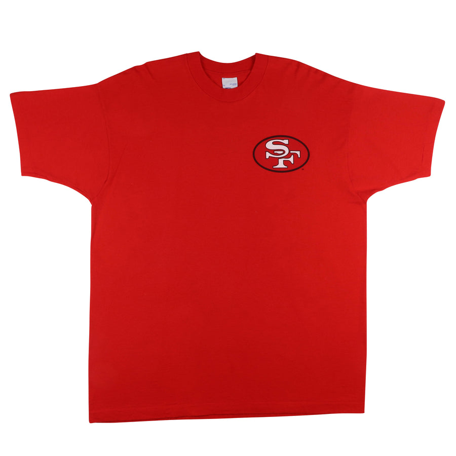 1995 San Francisco 49ers Double Sided T-Shirt XL