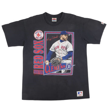 1991 Boston Red Sox Roger Clemens T-Shirt XL