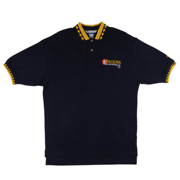 1990s Champion Indiana Pacers Polo Shirt M