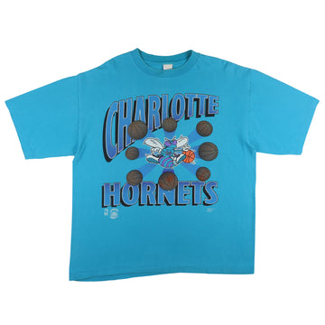 1990s Charlotte Hornets Don't Bug Me T-Shirt XL