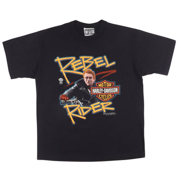 1987 Harley Davidson Rebel Rider James Dean T-Shirt M