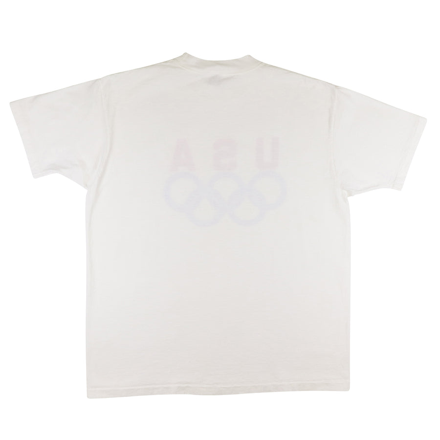 1990s Team USA Olympic Rings T-Shirt XL
