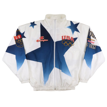 1996 Champion USA Atlanta Olympics Award Ceremony Jacket XL