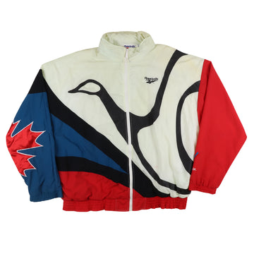 1994 Reebok Team Canada Victoria Commonwealth Games Warm Up Jacket L