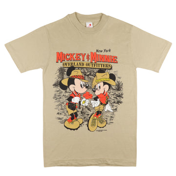 1980s Mickey & Minnie Overland Outfitters T-Shirt S