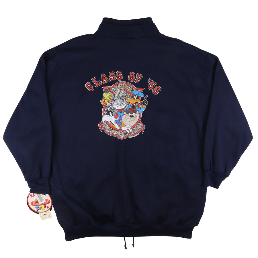 1994 Looney Tunes Reversible Sweatshirt Style Jacket 2XL