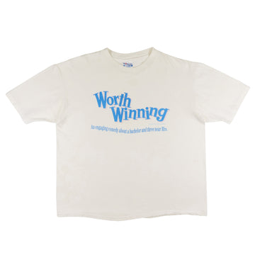 1989 Worth Winning Mark Harmon Movie T-Shirt XL