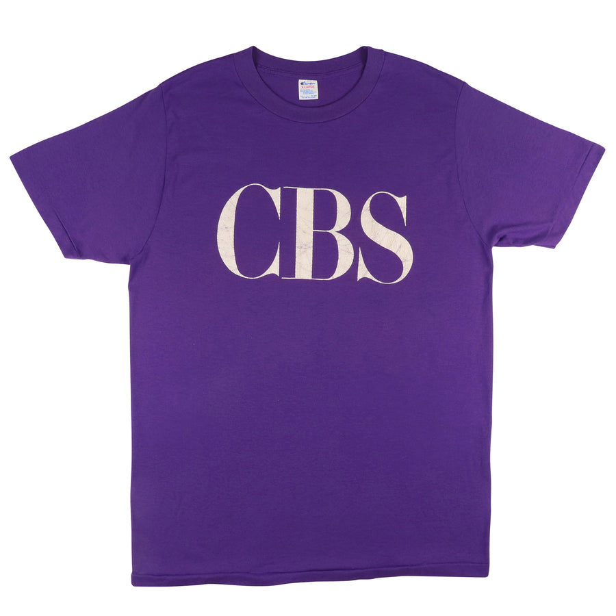 1980s Champion CBS Columbia Broadcasting System T-Shirt XL