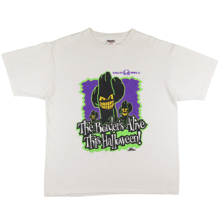 1990s Taco Bell The Border's Alive This Halloween T-Shirt XL