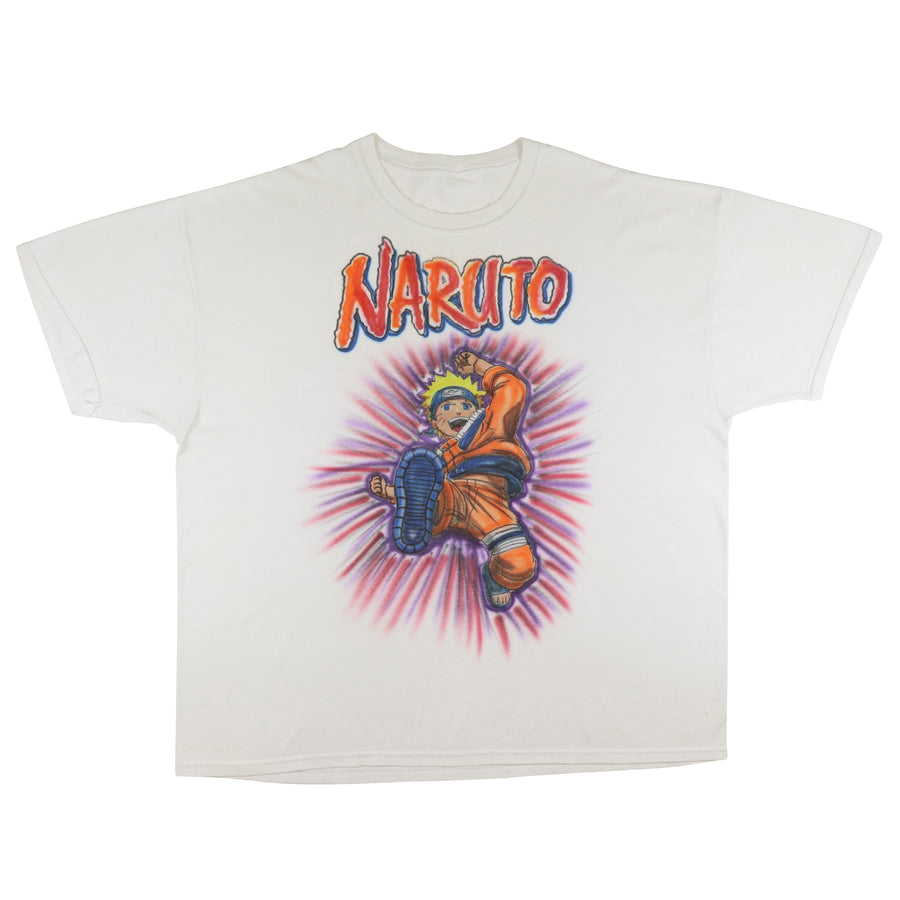 2000s Naruto Anime Manga Series Custom Airbrush T-Shirt 3XL