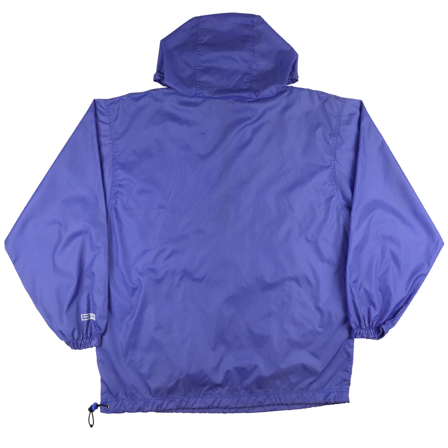1990s Sony Handycam Tape Your Best Shot Half Zip Hooded Jacket M