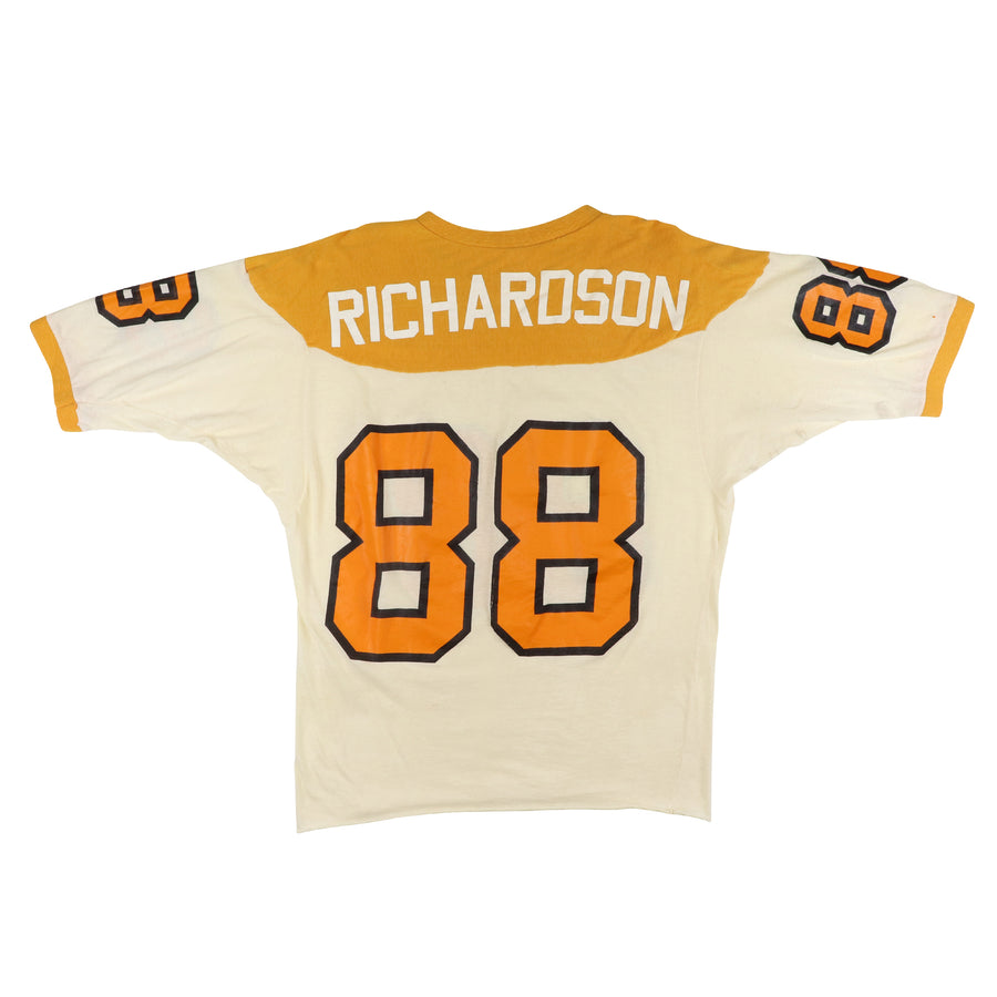 1973 Game Used Tennessee Volunteers Tim Richardson Jersey 44
