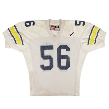 1995 Game Used Michigan Wolverines James Hall Jersey 50
