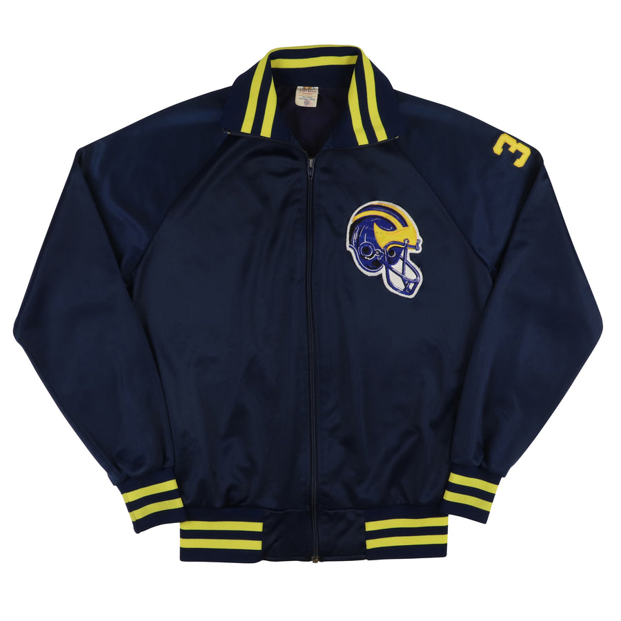 1980s Game Used Michigan Wolverines John Willingham Warm Up Jacket M