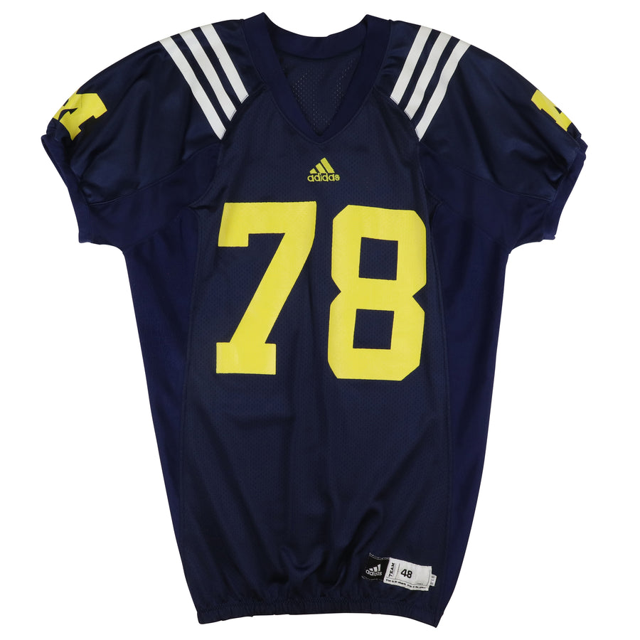 2012 Game Used Michigan Wolverines Erik Magnuson Practice Jersey 48