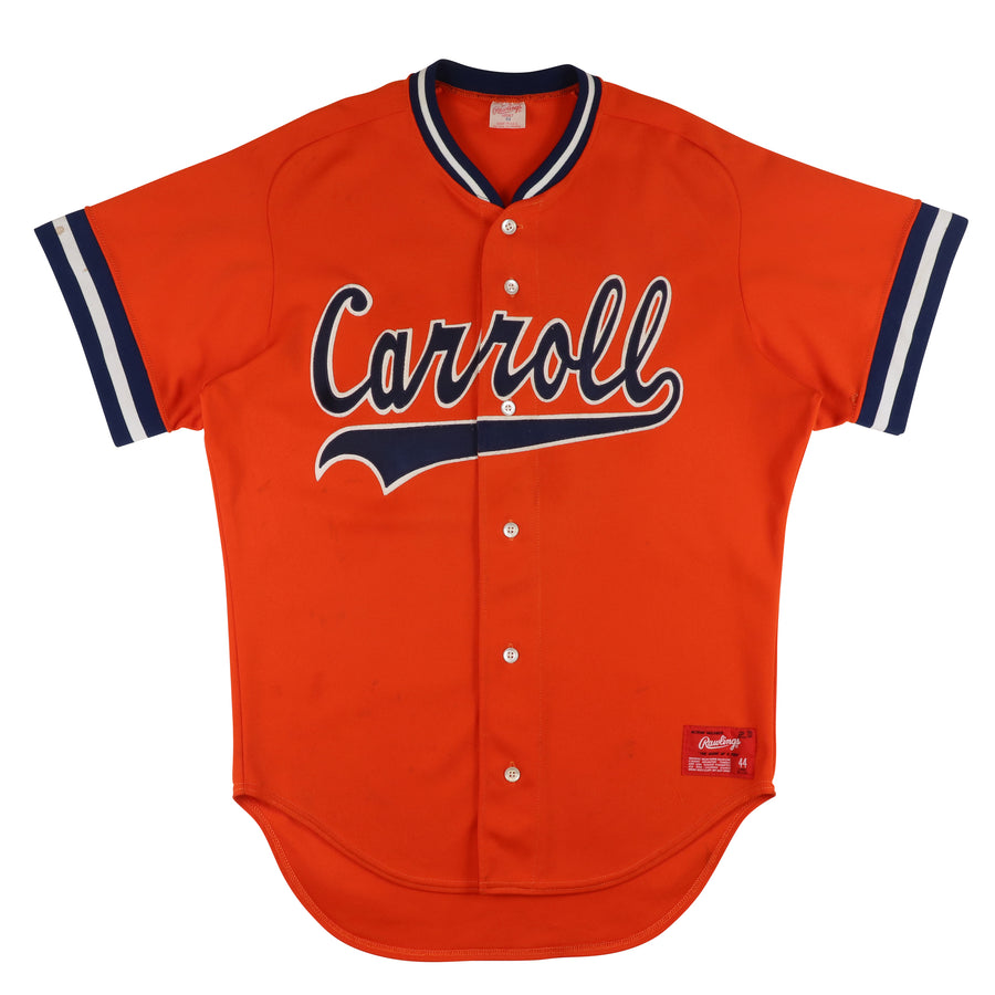 1990s Game Used Carroll University Pioneers Jersey 44