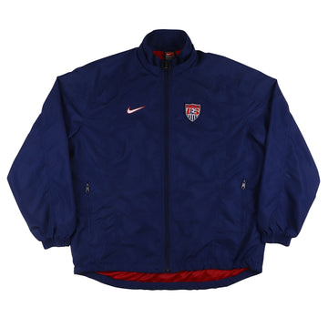 2000s Game Used Team USA National Soccer Warm Up Jacket M