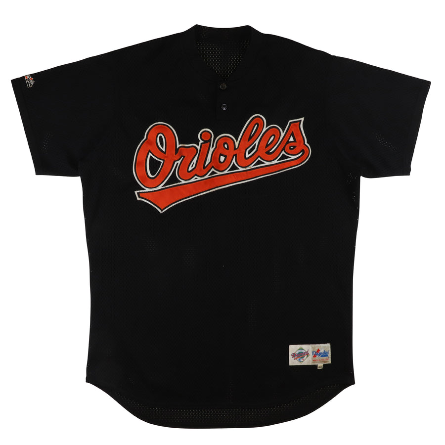 1998 Game Used Baltimore Orioles Pete Smith Spring Training Jersey 48