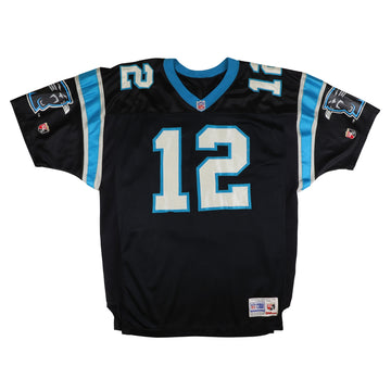 1995 Authentic Carolina Panthers Kerry Collins Jersey 48