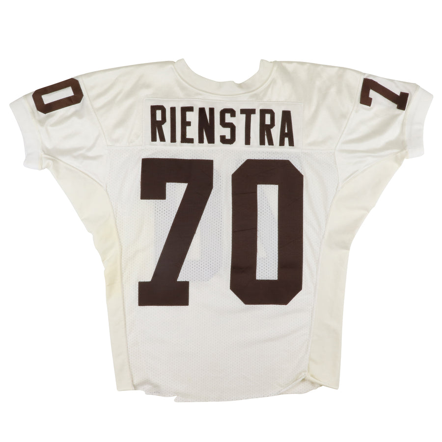 1991-1992 Game Used Cleveland Browns John Rienstra Jersey 46