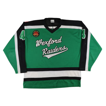 1996-1997 Game Used Wexford Raiders MetJHL Junior Hockey Jersey 2XL