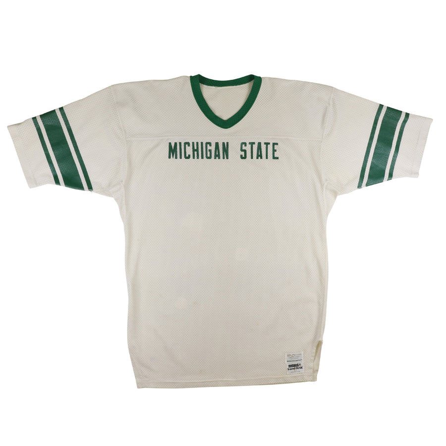 1981-1984 Team Issued Michigan State Spartans Jersey 52