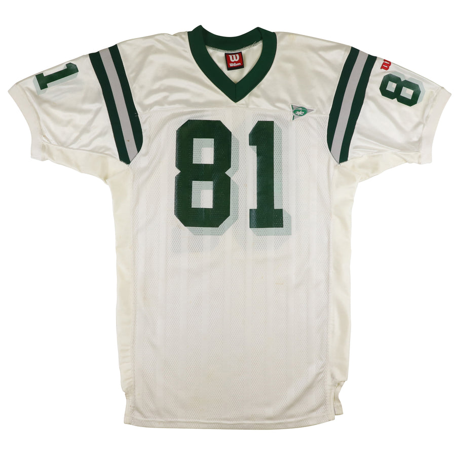 1999 Team Issued Eastern Michigan Eagles Larry Clark MAC Jersey 52