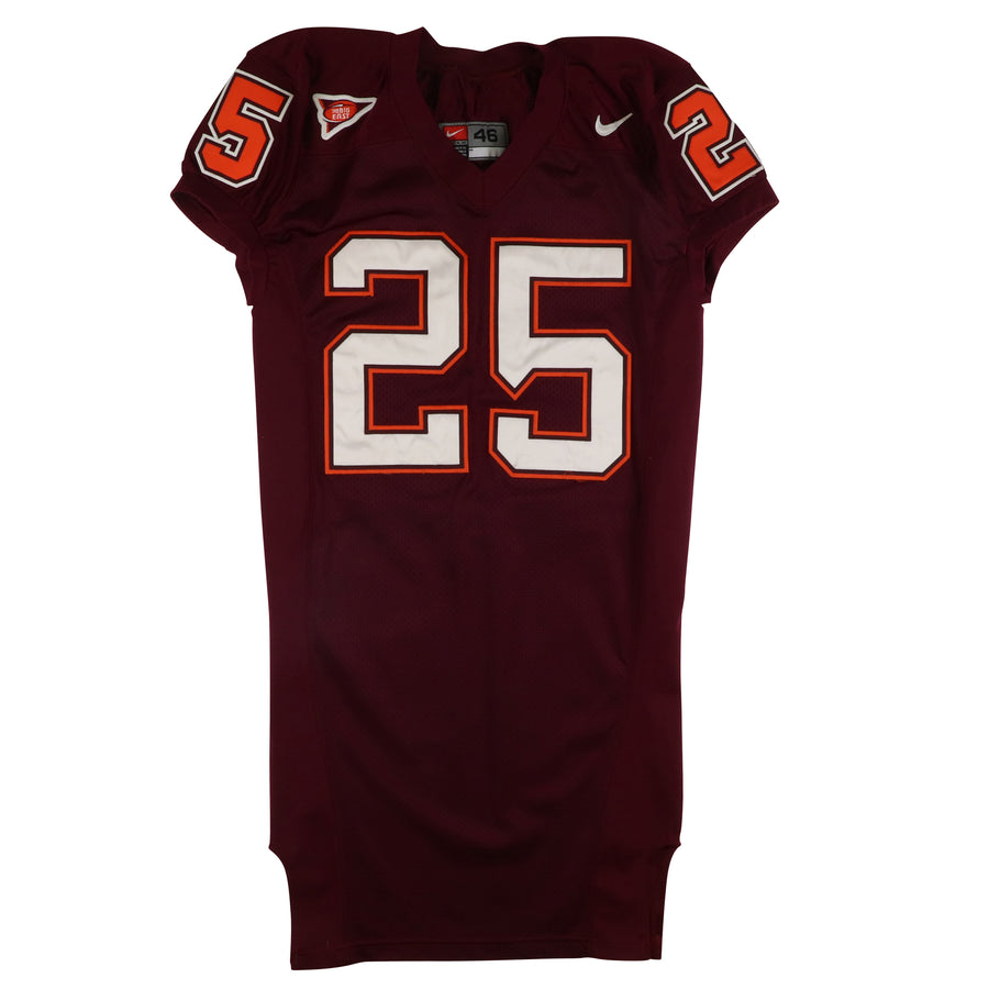 2002-2003 Team Issued Virginia Tech Hokies Billy Hardee All Century Team Presentation Jersey 46
