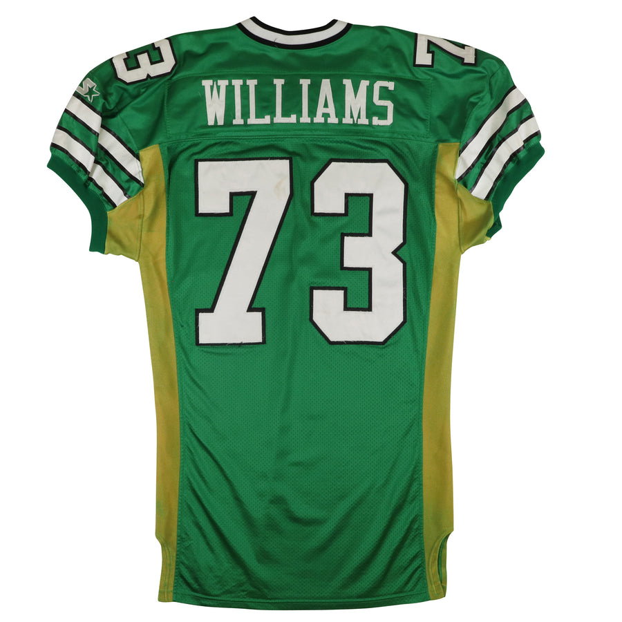 1997 Game Used New York Jets David Williams Jersey 52