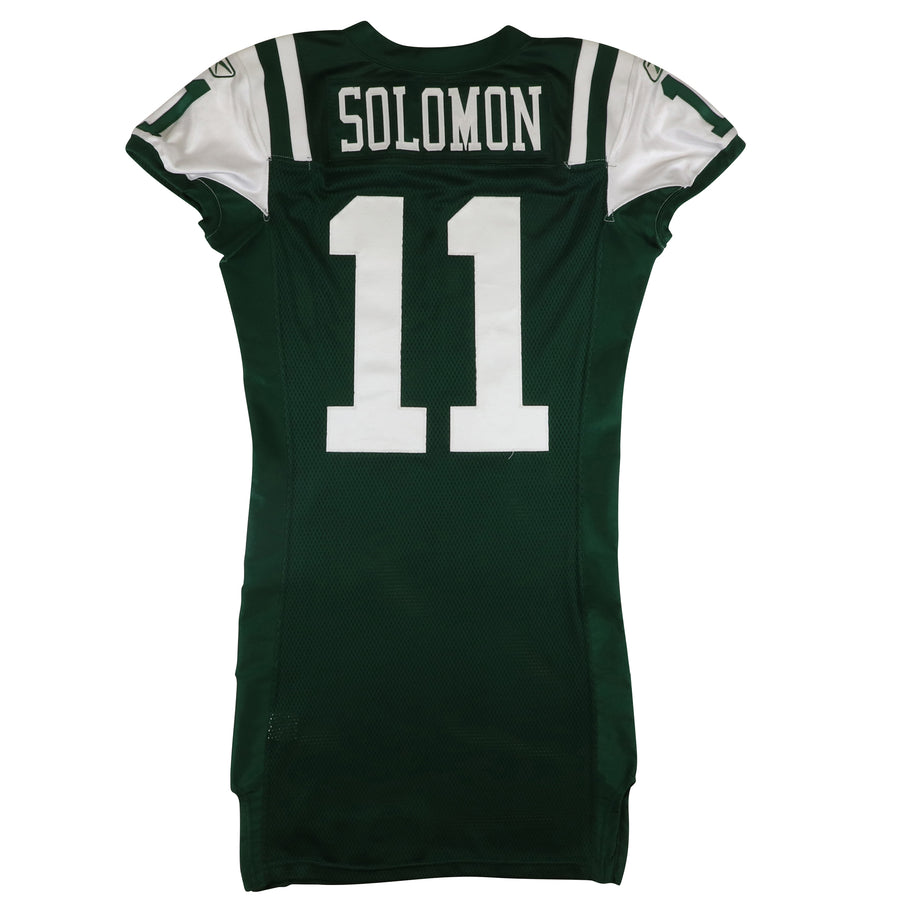 2010 Team Issued New York Jets Solomon Jersey 42