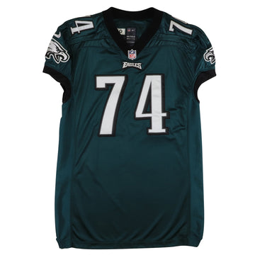 2013 Game Used Philadelphia Eagles Michael Bamiro Jersey 50