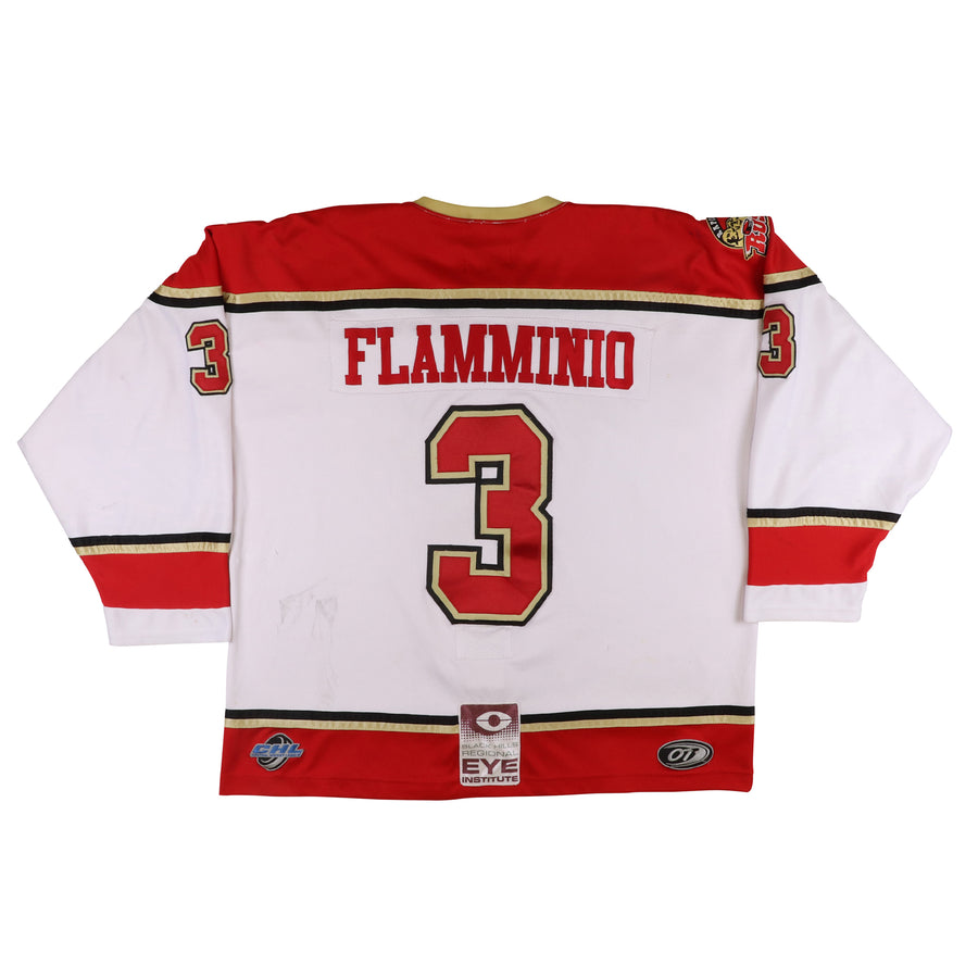 2008-2009 Game Used Rapid City Rush Giovanni Flamminio CHL Jersey 56