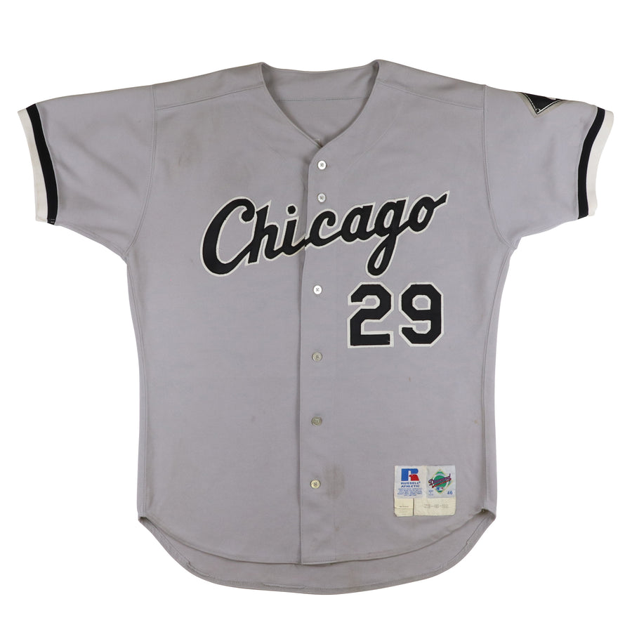 1997-1998 Game Used Chicago White Sox Keith Foulke Signed Jersey 46