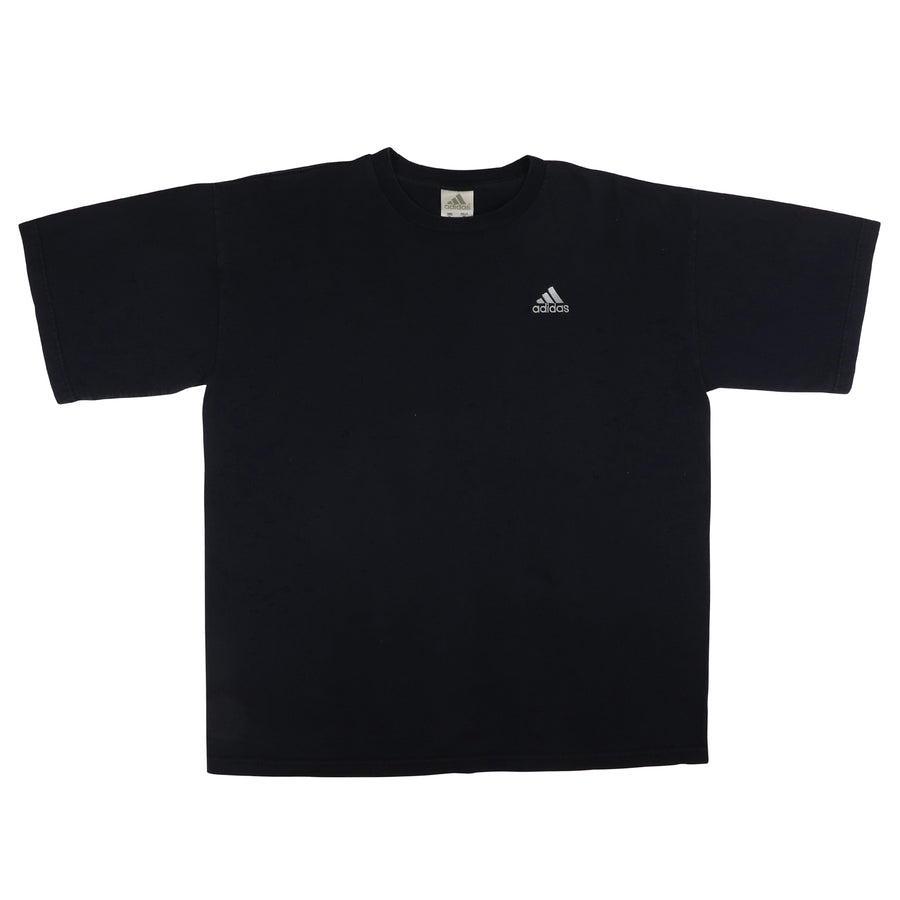 1990s Adidas Embroidered Mountain Logo T-Shirt XL