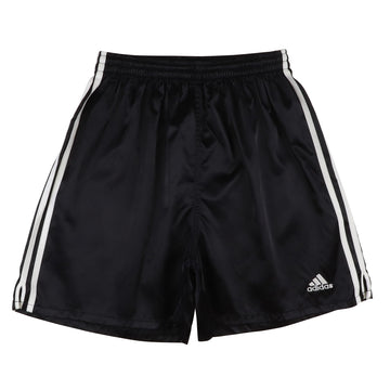 1990s Adidas Mountain Logo 'Three Stripes' Nylon Shorts M