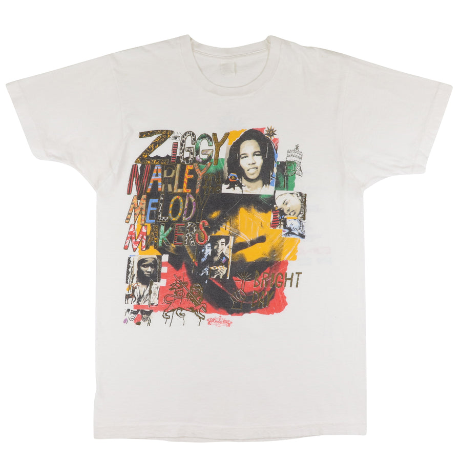 1989 Ziggy Marley & The Melody Makers One Bright Day World Tour T-Shirt S