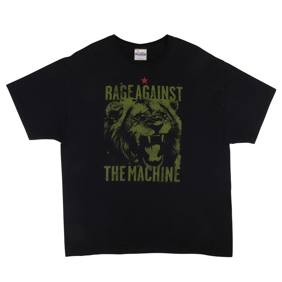 2009 Rage Against The Machine Roaring Lion T-Shirt XL