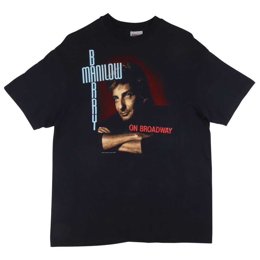 1989 Barry Manilow On Broadway T-Shirt XL