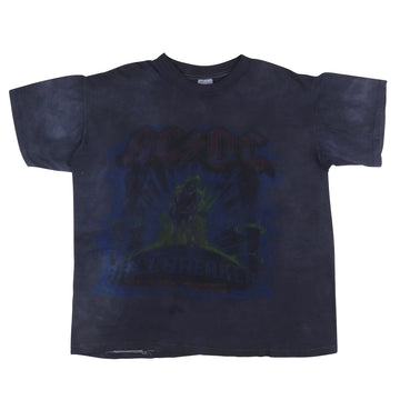 1996 ACDC Ballbreaker Tour Over Dyed Parking Lot T-Shirt XL