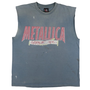 1998 Metallica Garage Inc Custom Thrashed Tank Top XL