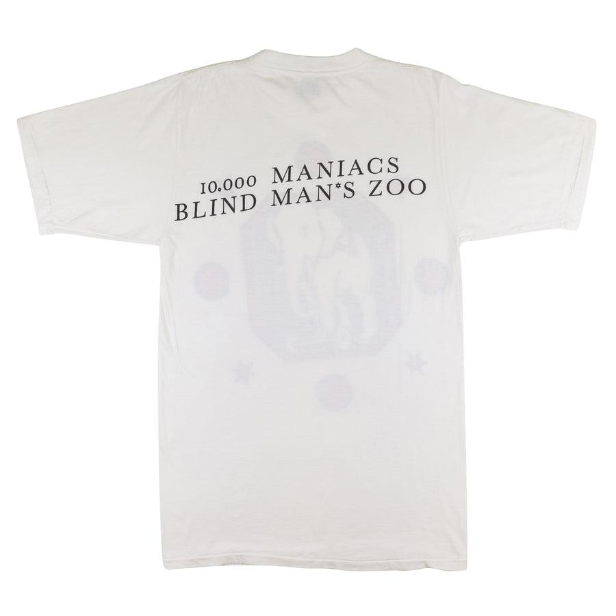 1989 10,000 Maniacs Blind Man's Zoo T-Shirt M