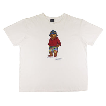 1990s Polo Ralph Lauren Standing Bear T-Shirt 2XL