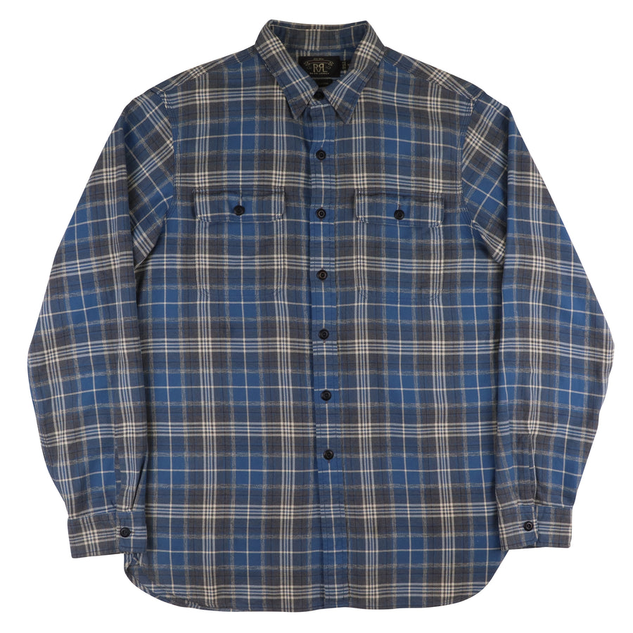 2000s Ralph Lauren RRL Plaid Flannel Shirt M