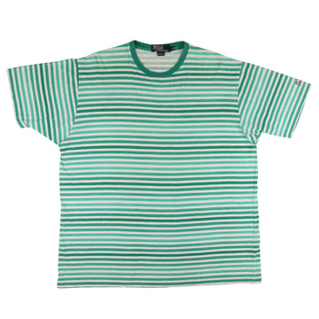1990s Ralph Lauren 'Polo Sport' Gradient Striped T-Shirt XL