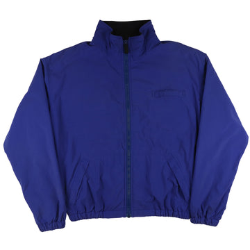 1990s Ralph Lauren 'Polo Sport' Fleece Lined Sleeve Patch Jacket XL