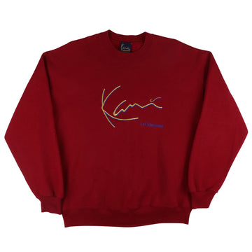 1990s Karl Kani Classic Embroidered Logo Sweatshirt XL