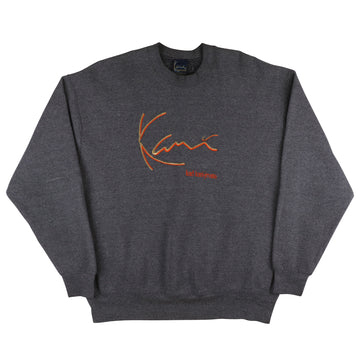 1990s Karl Kani Classic Embroidered Logo Sweatshirt 2XL