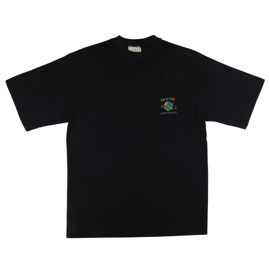 1990s Coogi Australia Embroidered Logo T-Shirt M