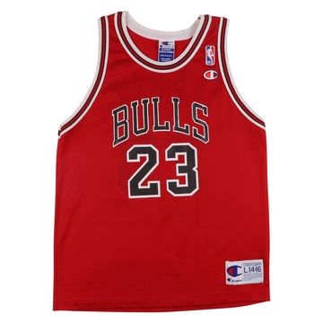 1990s Champion Chicago Bulls Michael Jordan Jersey L Youth