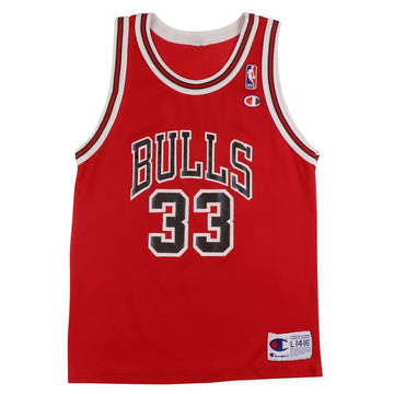 1990s Champion Chicago Bulls Scottie Pippen Jersey L Youth